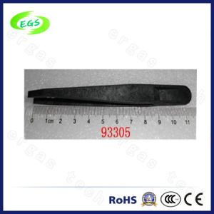 118 mm Black ESD Plastic Tweezers (93305) pictures & photos