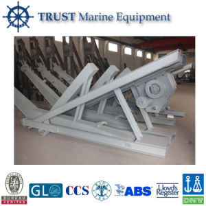 Hot Sale Marine Gravity Luffing Arm Type Lifeboat Davit Crane pictures & photos