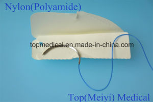 Surgical Suture with Needle - Nylon Monofilament Non Absorbable Suture pictures & photos