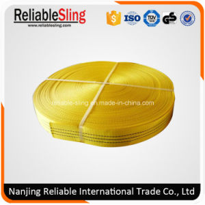 3 Ton Polyester Woven Webbing Flexible Strap pictures & photos