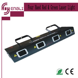 4 Eyes Head Red Green Laser Light for Stage (HJ-006)