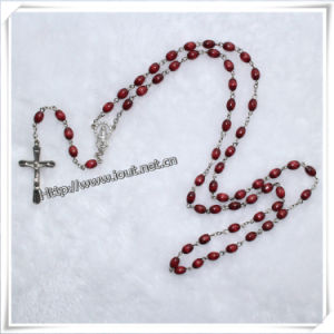 Wooden Rosary Bead Necklace/Wooden Beads Rosary Bracelet/Wooden Rosary Necklaces (IO-cr013) pictures & photos