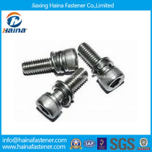 Hexagon Socket Head Cap Screw Assemblies Screw with Washers pictures & photos
