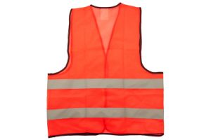 High Vis Yellow&Orange Mesh Polyester Safety Vest -Kseibi pictures & photos