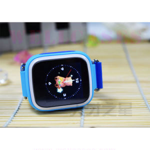 Hq Screen Tele-Monitoring Silicone Wristband Children′s Smart Watch for Android/iPhone
