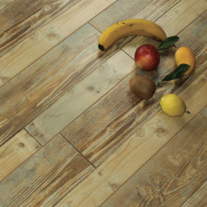 Eir 12mm Wood Flooring with Three Strips, Square Edge
