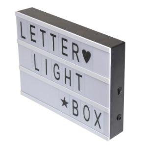 Letter Light Boxes.A4 Led Cinema Letter Light Box