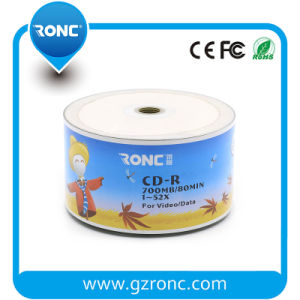 Ronc Single Layer Style 52X Recording Speed 700MB Blank CD