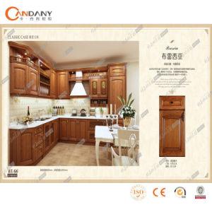 American Oak Kitchen Furniture Solid Wood Cabinet