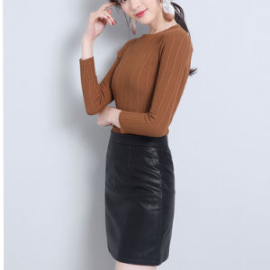 d2a5492b21a0c0 China Black Girls Tight Leather Skirt for Ladies Wear - China Tight ...