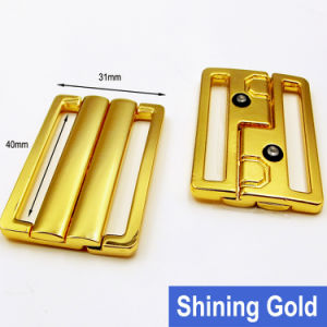 40mm Swimwear Gold Metal Clip in Water Proof pictures & photos