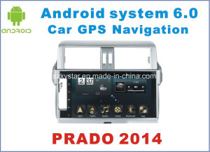 New Ui Android 6.0 Car Navigation for Toyota Prado 2014 with Car DVD Player