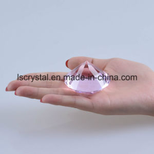 50mm Crystal Glass Fake Colorful Diamond for Wedding Decoration pictures & photos