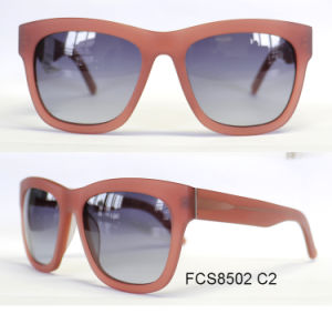 High Quality Custom Acetate Polarized Sunglasses pictures & photos