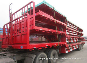 17.5 Low Bed Flatbed Semitrailer