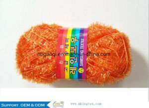 Hot Sell 50gr Balls Hand Knitting Alpaca Acrylic Slub Yarn Fancy Yarn pictures & photos