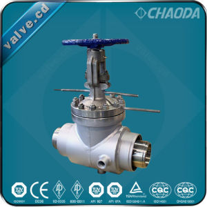 API Standard Flanged/Welded Ends Jacketed Gate Valve pictures & photos
