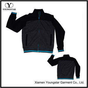 Mens Black Grey Sports Jacket Sport Online pictures & photos