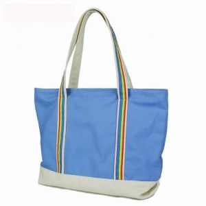 Fashion Eco-Frindly Canvas Shopper Grocery Beach Big Tote Shoulder Bag pictures & photos