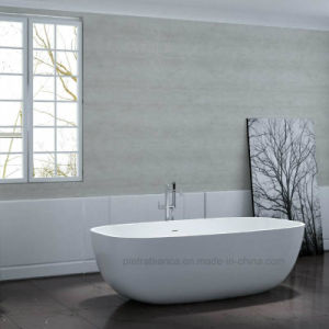 2017 New Modern High Quality Solid Surface Bathtub (PB1080N)
