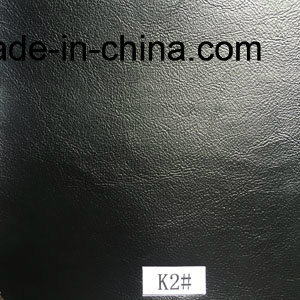 Black Synthetic Leather for Furniture pictures & photos