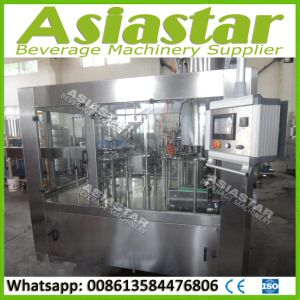Stainless Steel Automatic Bottling Juice Filling Capping Machine pictures & photos