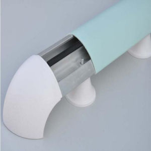 High Quality Anti-Bacterial Hospital Corridor Wall Protection PVC Handrails