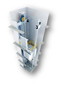 Gearless Energy Saving Passenger Elevator pictures & photos