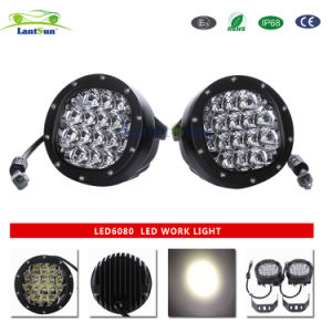 "5"" Inch 80W Round Offroad LED Working Light for Atvs Fork Lift Trains pictures & photos"