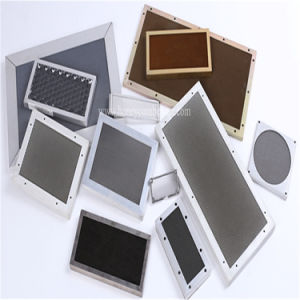 Steel Ventilation Panel Filter Yellow Chromated (HR333)