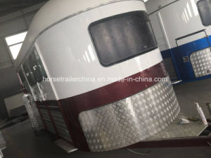 High Quality Two Horses Angle Load Horse Float/Horse Trailer Fully Customizable pictures & photos