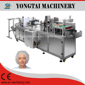 Fully Automatic Surgeon PP Nonwoven Medical Cap Making Machine pictures & photos