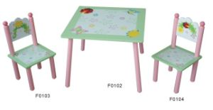 Kids Ladybug Table and Chairs Set pictures & photos