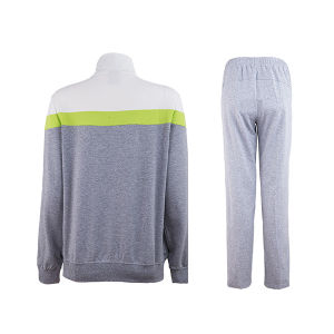 Women Girls Polyester Training Suit with Jacket and Pant pictures & photos