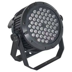 Stage Use Aluminum Shell 8 Control Channels 54PCS 3W High Brightness LED PAR Light