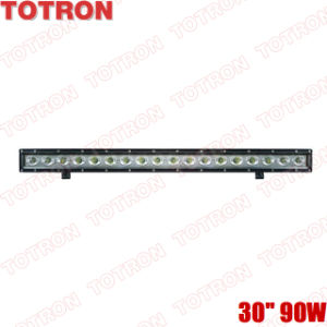 "TOTRON Super bright 30"" single row Cree LED off road light bar for ATV,SUV,UTV,4X4"