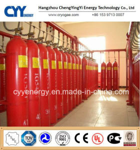 New Seamless Steel Fire Fighting Carbon Dioxide Gas Cylinder