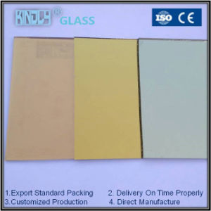 Colored Reflective Clear Glass