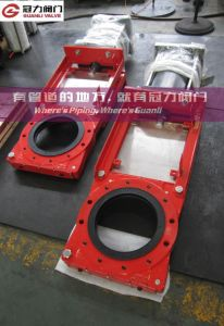 "Red Valve 12"" Slurry Knife Gate Valve pictures & photos"