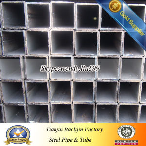 Q195 Q235 Q345 Square ERW Welded Hollow Section Steel Tube pictures & photos