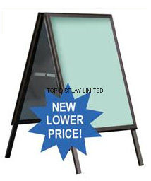 "Calibre Metal a Frame & Inserts Media 4mil Coroplast - Glimmer Sign & Design 24"" X36"", 32""X48"" Display Hardware Advertising Stand Brisbanesandwich Boad pictures & photos"