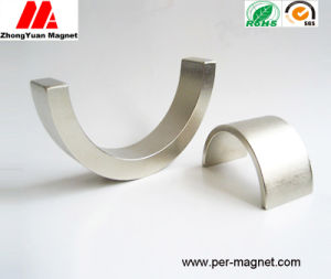 Semi-Circle Sinteringndfeb Pemanet Magnet for Stepping Motor