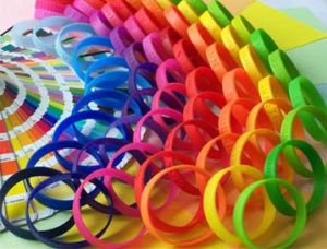 Customer Silicone Bracelet with Many Color for Options pictures & photos