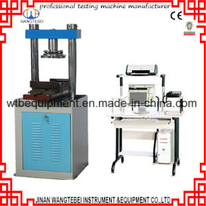 Wty-W300 Computerized Cement Compression and Bending Testing Machine