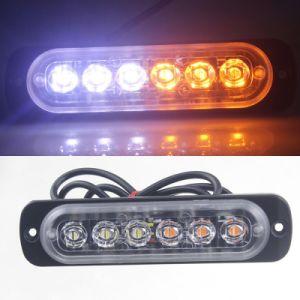 16 Amber LED Magnetic Emergency Hazard Warning Safety Road Light 10 in 1 Strobe