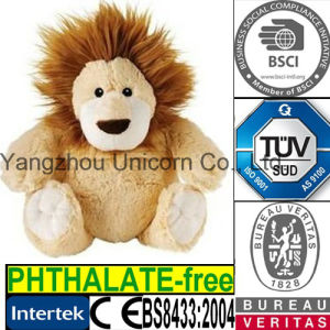 EN71 Lion Soft Toy Microwave Heated Wheat Bag