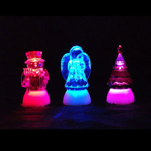 Color Changing LED Acrylic Christmas Decoration Light