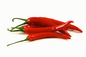 Red Spicy Hot Dry Chilli Pepper