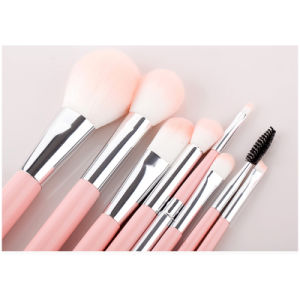 8PCS Private Label Plastic Handle Synthetic Hair Cosmetic Makeup Brush pictures & photos