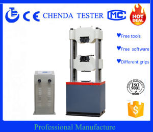 We-1000d Digital Display Hydraulic Universal Testing Machine (Made in China)